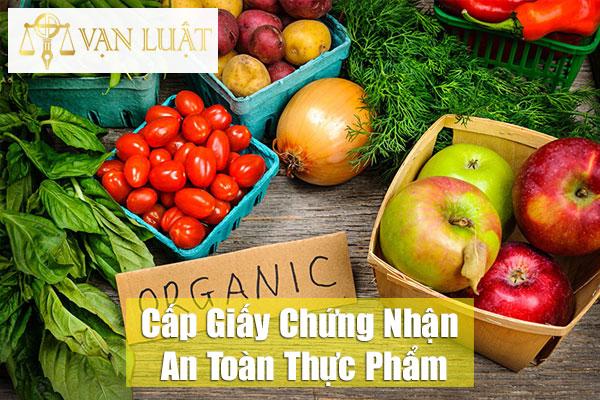 Cấp giấy chứng nhận an toàn thực phẩm tại Hà Nội