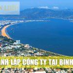 Bảng giá dịch vụ thành lập công ty trọn gói tại Bình Định | Giá cả hợp lý, dịch vụ nhanh