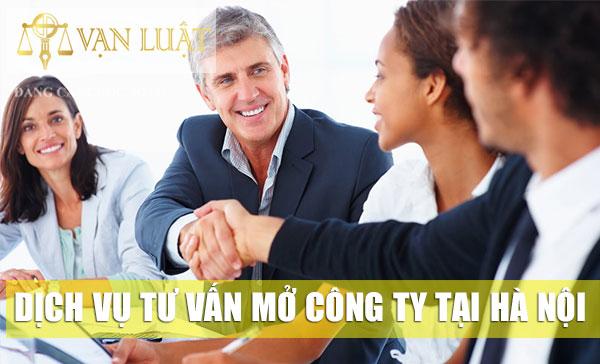 Dịch vụ tư vấn mở Công Ty tại Hà Nội