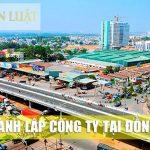 Dịch vụ thành lập công ty, doanh nghiệp công ty tại Đồng Nai