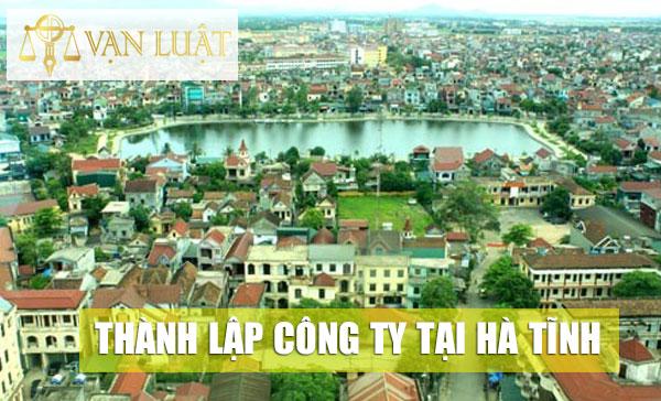 Thành lập công ty, doanh nghiệp tại Hà Tĩnh