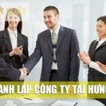 Thành lập công ty tại tỉnh Hưng Yên