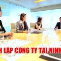 Thành lập công ty doanh nghiệp tại tỉnh Ninh Bình