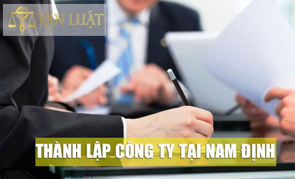 Thành lập công ty tại tỉnh Nam Định