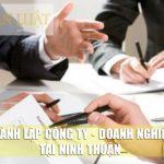 Dịch vụ thành lập công ty giá rẻ tại Ninh Thuận uy tín chuyên nghiệp