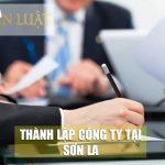 Dịch vụ thành lập công ty tại Sơn La