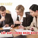 Thủ tục xin và cấp giấy chứng nhận đầu tư