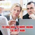 Dịch vụ tư vấn hình thức đầu tư nước ngoại tại Việt Nam