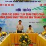Ban quản lý công bố an toàn thực phẩm tại Hà Nội