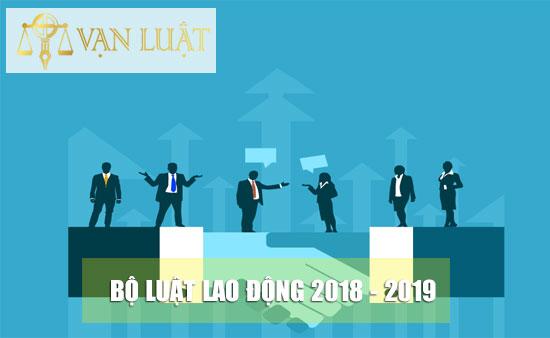 Bộ Luật lao động mới nhất 2018