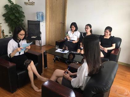 Hình ảnh: Buổi training của Vạn Luật Hà Nội