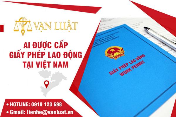 Ai được cấp giấy phép lao động cho người nước ngoài tại Việt Nam