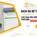 Các loại hóa đơn mới nhất trong Doanh nghiệp theo pháp luật