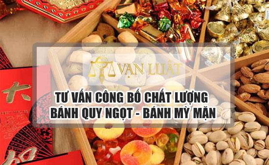 Công bố tiêu chuẩn bánh quy mặn, ngọt, lạc tại Việt Nam