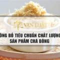 Dịch Vụ Công bố tiêu chuẩn chà bông Uy Tín - Nhanh Gọn