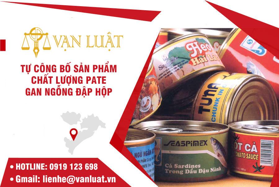 Công bố chất lượng pate gan ngỗng nhập khẩu tại Việt Nam