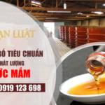Công bố tiêu chuẩn chất lượng sản phẩm nước mắm tại Việt Nam