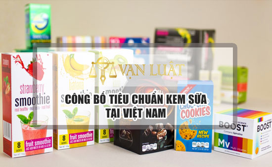 Công bố tiêu chuẩn chất lượng kem sữa chua nhập khẩu