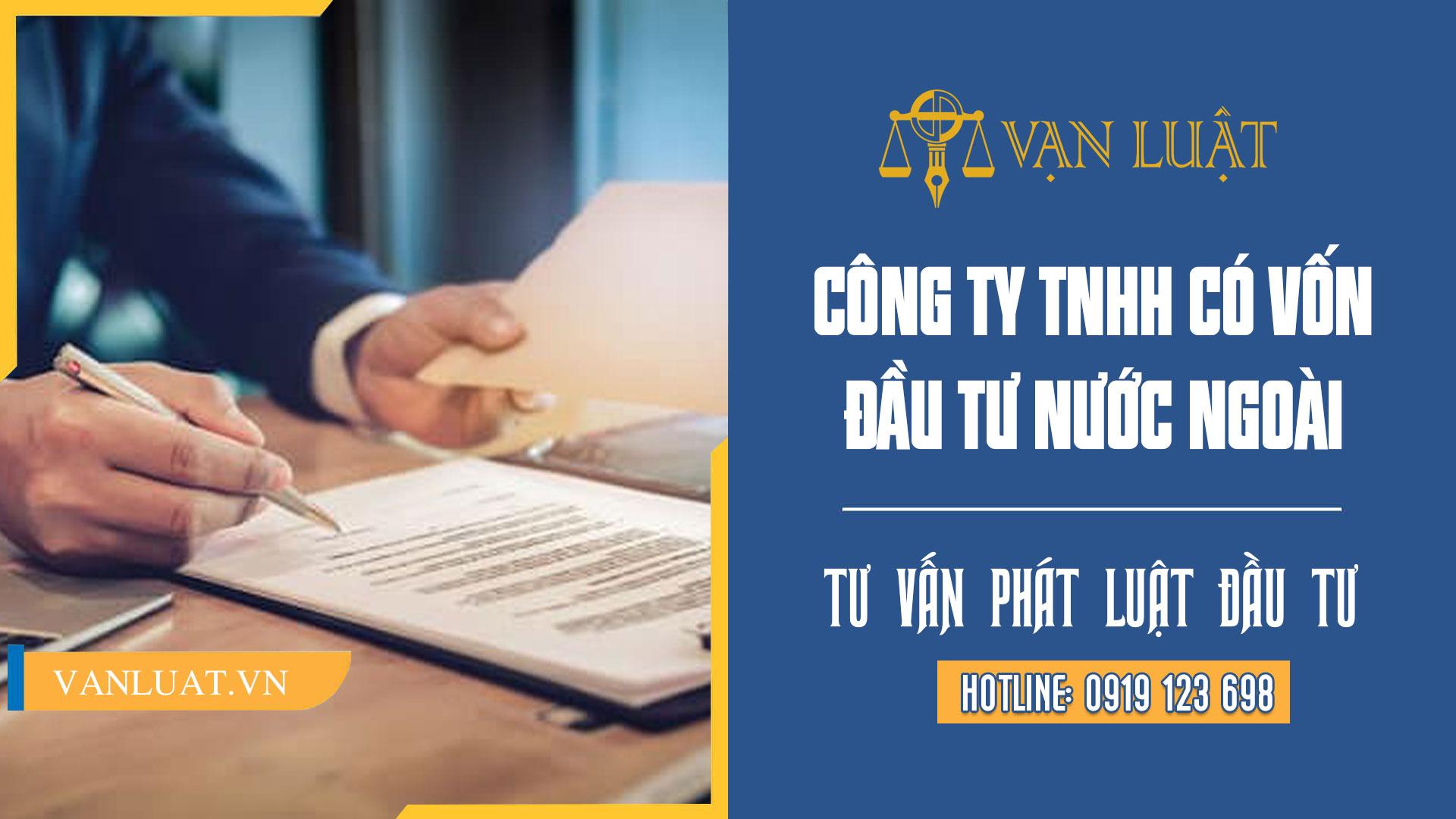 Công ty TNHH có vốn đầu tư nước ngoài tại Việt Nam