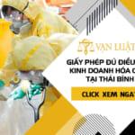Dịch vụ xin Giấy phép đủ điều kiện kinh doanh hóa chất tại Thái Bình