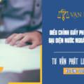 Điều chỉnh giấy phép Văn phòng đại diện nước ngoài tại Việt Nam