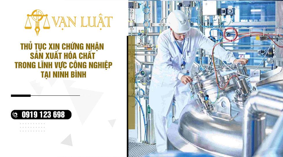 Giấy phép kinh doanh hóa chất tại Trung tâm phục vụ hành chính công tỉnh Ninh Bình