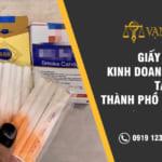 Giấy phép kinh doanh thuốc lá tại Tp HCM