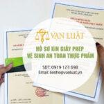 Hồ sơ xin giấy vệ sinh an toàn thực phẩm đủ điều kiện tại Việt Nam