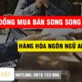 Mẫu Hợp đồng mua bán song song hàng hóa ngôn ngữ Anh Việt