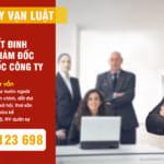 Quyết định bổ nhiệm giám đốc, tổng giám đốc tại Việt Nam