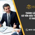 Thành lập công ty có vốn đầu tư nước ngoài tại Thái Bình