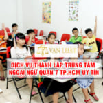 Thành lập trung tâm ngoại ngữ quận 7 Tp.HCM – Cam kết 100% Ra Giấy Phép