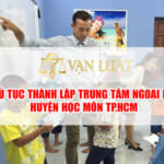 Xin giấy phép trung tâm ngoại ngữ tại Huyện Hóc Môn TP.HCM