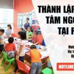 Thành lập trung tâm ngoại ngữ tại Phú Thọ