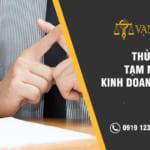 Thủ tục tạm ngừng kinh doanh ở Hà Nội