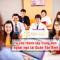 Tư vấn thành lập trung tâm ngoại ngữ tạiQuận Tân Bình