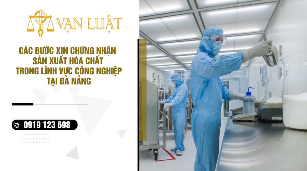 Xin giấy phép Sản xuất kinh doanh hóa chất tại Đà Nẵng